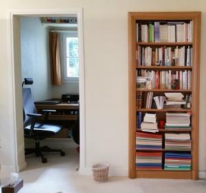 Bibliothéque - Salle du verbal et de l'Emdr - Cabinet de Psychologie à Toulouse