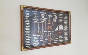 Tableau de noeuds marins